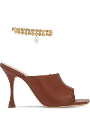 MAGDA BUTRYM Femme Sandales - Sandales En Cuir 80 Mm