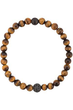 Nialaya Bracelet orné de perles œil de tigre