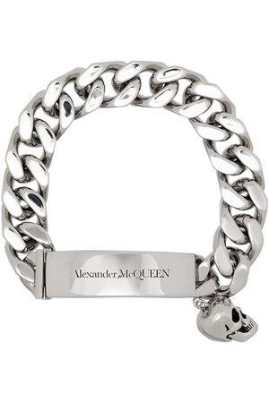 Alexander McQueen Bracelet chaîne à breloque tête de mort