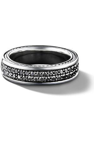 David Yurman Bague à design pavé de diamants