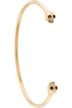 Alexander McQueen Homme Bracelets - Bracelet torque à têtes de mort