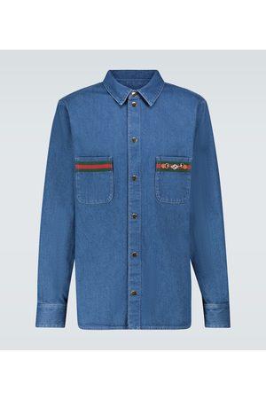 Gucci Chemise en jean