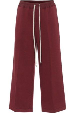 Rick Owens Pantalon de survêtement Felpa en coton