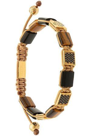 Nialaya Homme Bracelets - Adjustable stone bracelet