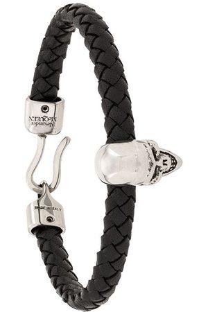 Alexander McQueen Bracelet à breloques tête de mort