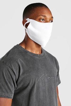 Boohoo 3 Pack Plain Fashion Masks Homme