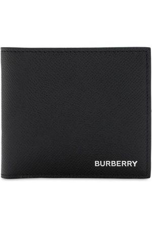 Burberry Portefeuille En Cuir Grainé