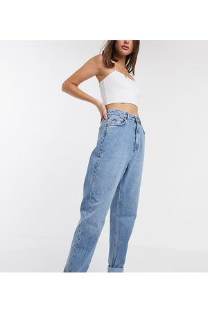 ASOS ASOS DESIGN Tall - Jean mom ample à taille haute