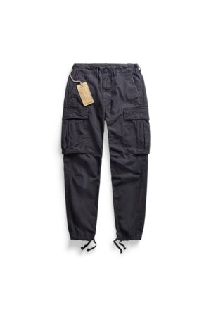 RRL Homme Cargos - Pantalon cargo surplus en toile
