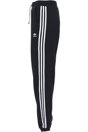 adidas Femme Pantalons coupe droite - Pantalon Regular En Coton