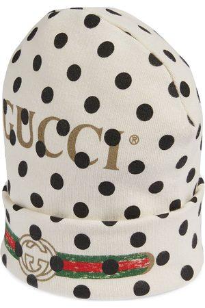 Gucci Bonnet en maille fine à logo