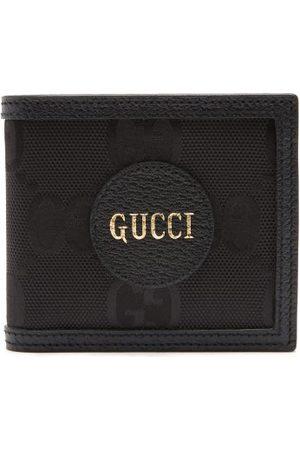 Gucci Portefeuille à deux volets en toile GG large