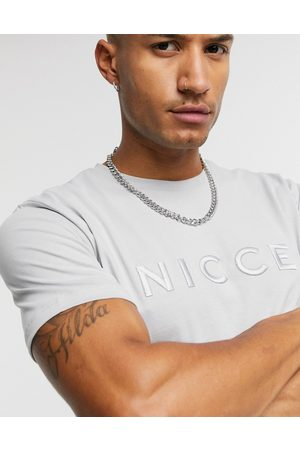 Nicce London Mercury - T-shirt avec logo brodé