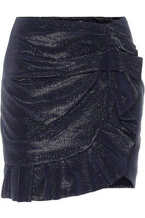 JONATHAN SIMKHAI Mini-jupe Azalea à fils métallisés