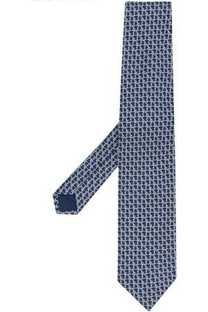 Salvatore Ferragamo Cravate à bout pointu