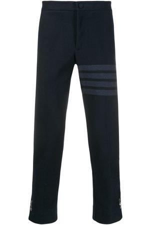 Thom Browne Pantalon slim à détail rayé