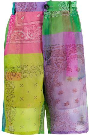 DUOltd Short à imprimé bandana