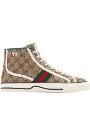 """Gucci Sneakers En Toile """" Tennis 1977"""" 10 Mm"""