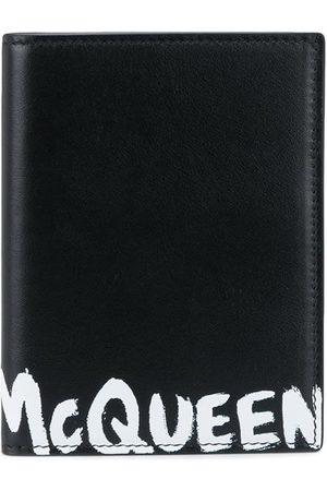 Alexander McQueen Porte-cartes pliant McQueen Graffiti