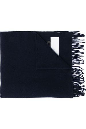 Moncler écharpe rayée à patch logo
