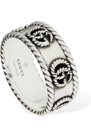 """Gucci Grosse Bague """"gg Marmont"""" 9 Mm"""