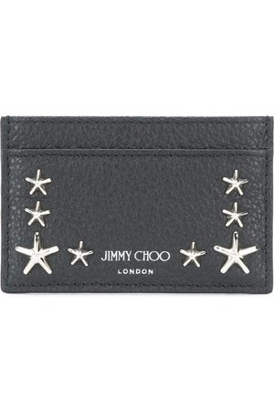 Jimmy Choo Star studded leather card holder
