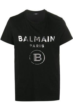 Balmain Logo lettering T-shirt