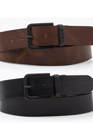 Levi's Reversible Core Metal Belt / Regular Black