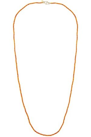 ROSA DE LA CRUZ Collier en perles et 18 carats Amber