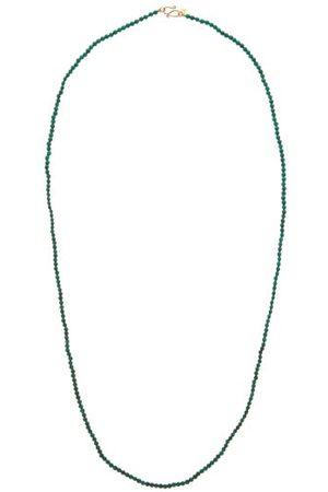 ROSA DE LA CRUZ Collier en 18 carats et perles de malachite