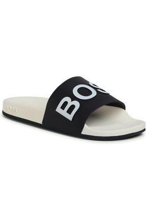 HUGO BOSS Mules / sandales de bain - Bay 50432591 10224455 01 Open Blue 460