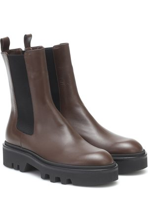 DRIES VAN NOTEN Bottines Chelsea en cuir