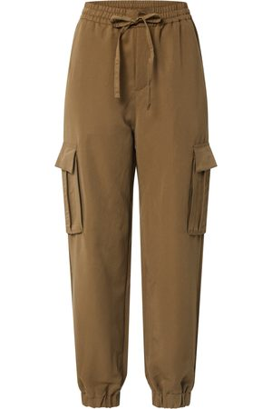 Urban classics Pantalon cargo 'Ladies Viscose Twill Cargo Pants