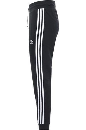 adidas Pantalon Slim En Coton Mélangé Avec Logo