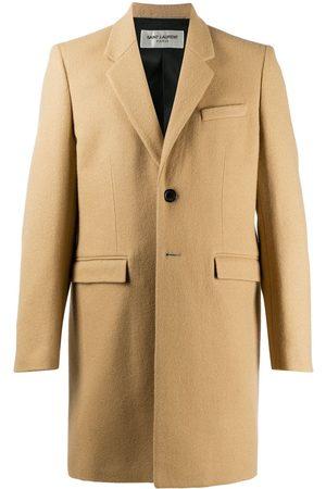 Saint Laurent Tailored single-breasted coat