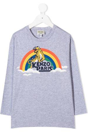 Kenzo T-shirt imprimé à manches longues