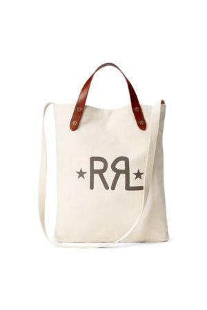 RRL Cabas Market logo en toile