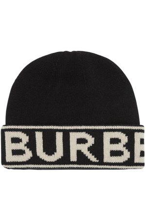 BURBERRY Bonnet En Cachemire Avec Logo