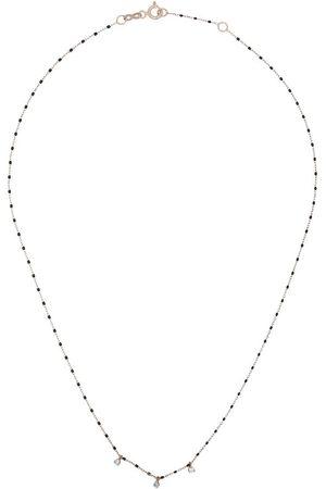 GIGI CLOZEAU Collier à détails de diamants et perles