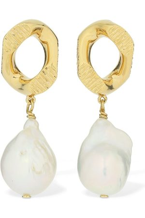 Burberry Boucles D'oreilles Avec Perles D'eau Douce