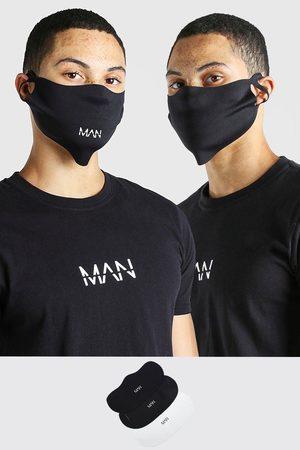 Boohoo Lot de 3 masques mode MAN Homme