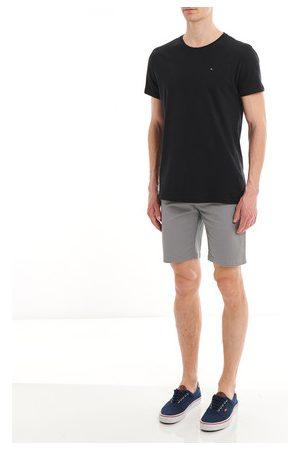 Tommy Hilfiger Homme Coupe droite - T-shirt droit en coton uni Ligne Tommy Jeans