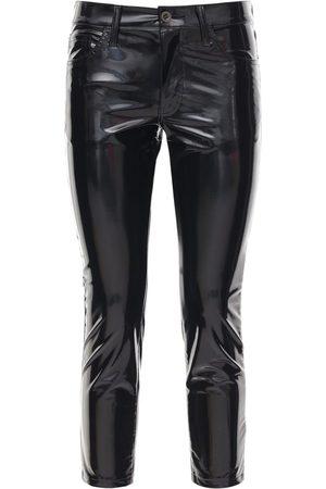 JUNYA WATANABE Pantalon Skinny Stretch Enduit
