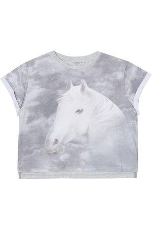 Stella McCartney T-shirt imprimé en coton mélangé
