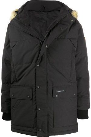 Canada Goose Manteau à capuche à bordure texturée