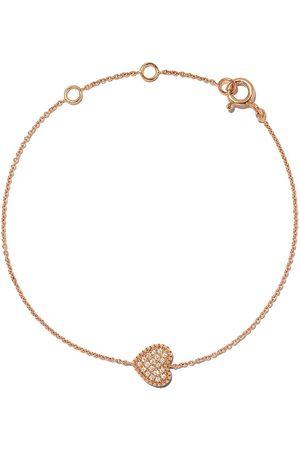 AS29 Bracelet en or rose 18ct pavé de diamants