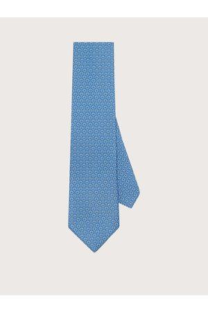 Salvatore Ferragamo Hommes Cravate imprimé Gancini