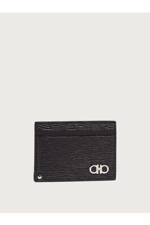 Salvatore Ferragamo Hommes Porte-cartes de crédit avec porte-carte d'identité rabattable