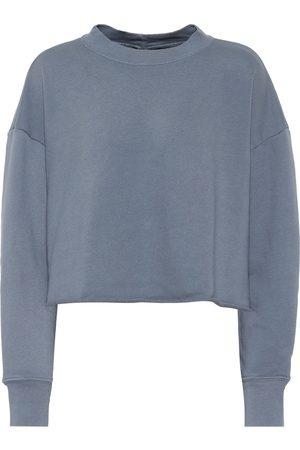 J Brand Sweat-shirt Wendy raccourci en coton