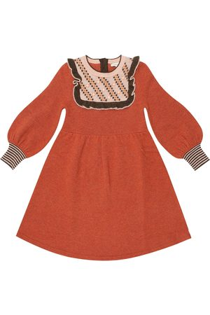 Caramel Robe Nightingale en laine mérinos